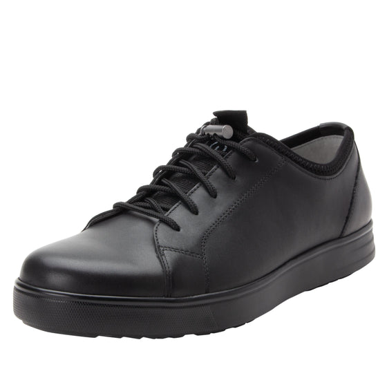 Qake leather smart shoes with q-chip technology. QAK-M7001_S1