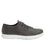 Qake Grey leather smart shoes with Q-chip™ technology. QAK-M7018_S2
