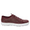 Qake Maroon leather smart shoes with Q-chip™ technology. QAK-M7602_S2