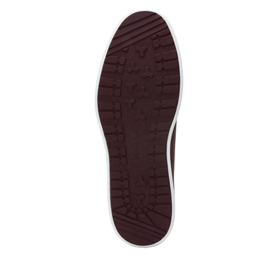 Qake Maroon leather smart shoes with Q-chip™ technology. QAK-M7602_S5