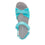 Qali Aqua three adjustable strap sandal with Q-chip™ technology. QAL-5439_S4