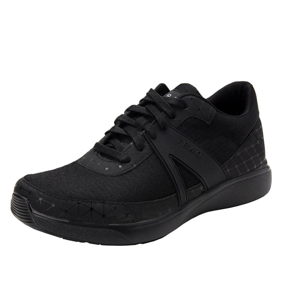 Qarma Black Swell smart shoes with Q-chip™ technology. QAR-5020_S1