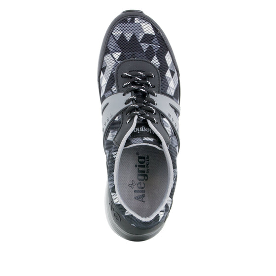 Qarma Right Angle Grey smart shoes with q-chip technology. QAR-5021_S4