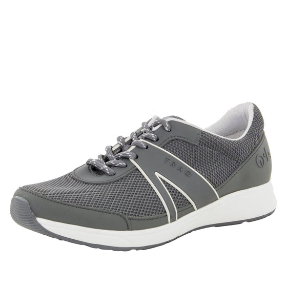 Qarma Grey smart shoes with Q-chip™ technology. QAR-5095_S1