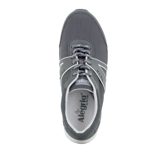 Qarma Grey smart shoes with q-chip technology. QAR-5095_S4