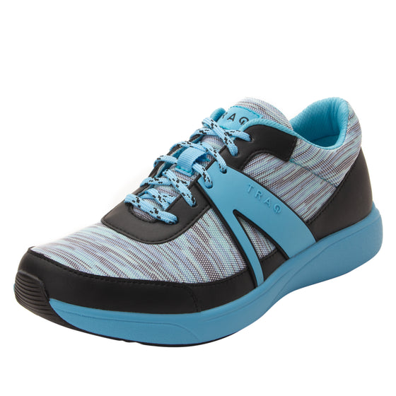 Qarma Horizon Blue smart shoes with q-chip technology. QAR-5435_S1