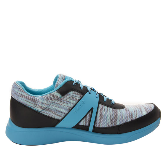 Qarma Horizon Blue smart shoes with q-chip technology. QAR-5435_S2