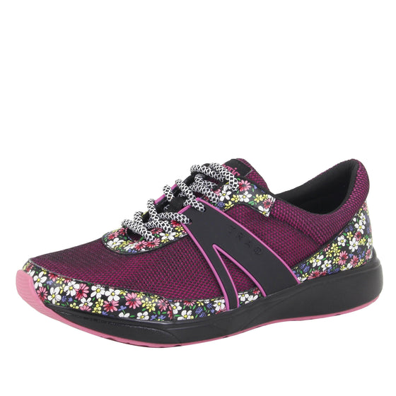 Qarma Wild Flower smart shoes with q-chip technology. QAR-5648_S1