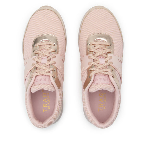 Qarma Rose Golden smart shoes with q-chip technology. QAR-5675_S4