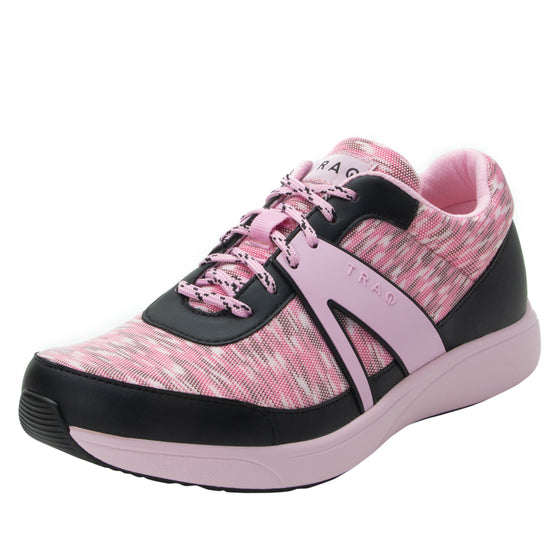 Qarma Horizon Pink smart shoes with q-chip technology. QAR-5688_S1