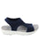 Qeen Navy slip on sandal with Q-chip™ technology. QEE-5410_S2