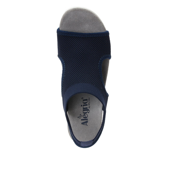 Qeen Navy slip on sandal with Q-chip™ technology. QEE-5410_S4