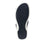 Qeen Navy slip on sandal with Q-chip™ technology. QEE-5410_S5