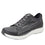 Qest Charcoal lace-up smart shoes with Q-chip™ technology. QES-5018_S1