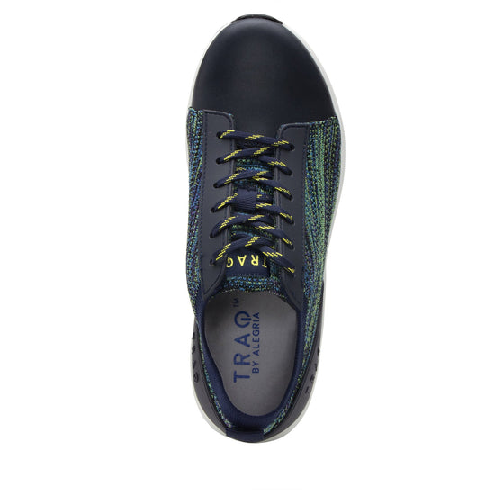 Qest Multiplex Green lace-up smart shoes with Q-chip™ technology. QES-5018_S4