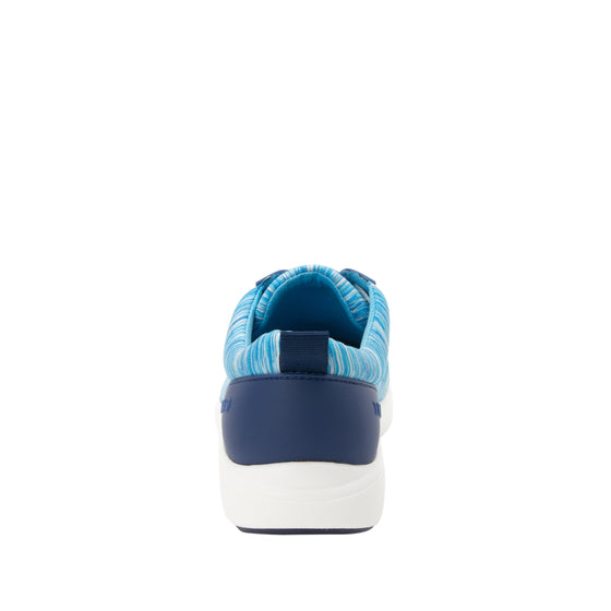 Qest Blue lace-up smart shoes with q-chip technology. QES-5493_S3