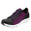 Qest Multiplex Magenta lace-up smart shoes with Q-chip™ technology. QES-5650_S1