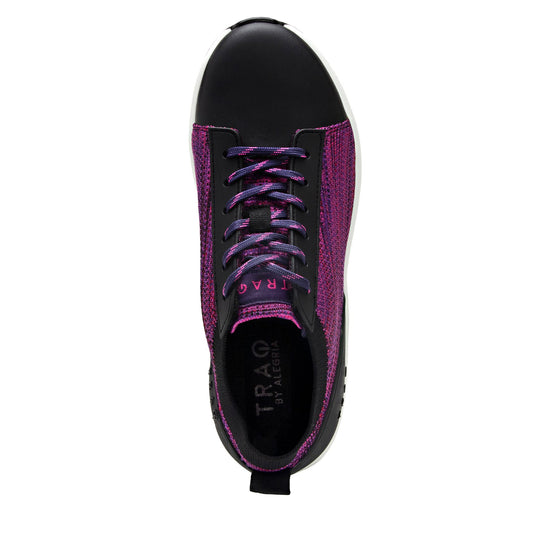 Qest Multiplex Magenta lace-up smart shoes with Q-chip™ technology. QES-5650_S4