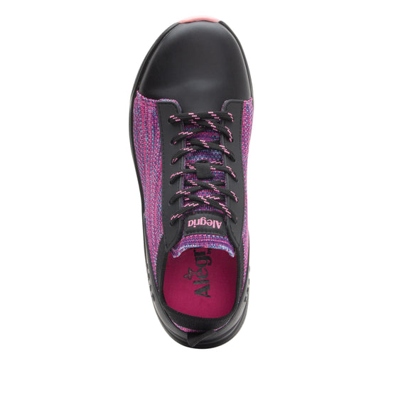 Qest Pink smart comfort shoe on Q-sport walker outsole - QES-5465_S4