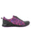 Qest Black Multi lace-up smart shoes with q-chip technology. QES-5982_S2