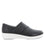 Qin Black Nappa smart slip on shoes with Q-chip™ technology. QIN-601_S2