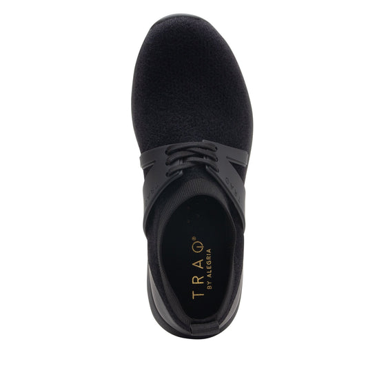 Qool The Fuzz Black smart shoes with Q-chip™ technology. QOO-5001_S4