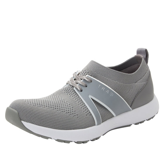 Qool Grey smart shoes with Q-chip™ technology. QOO-5061_S1