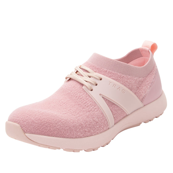 Qool The Fuzz Blush smart shoes with Q-chip™ technology. QOO-5687_S1
