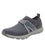 Qool Charcoal lace-up smart shoes with Q-chip™ technology. QOO-M7018_S1