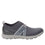 Qool Charcoal lace-up smart shoes with Q-chip™ technology. QOO-M7018_S2