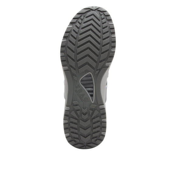 Qool Charcoal lace-up smart shoes with Q-chip™ technology. QOO-M7018_S5