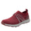 Qool Maroon lace-up smart shoes with Q-chip™ technology. QOO-M7602_S1