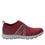 Qool Maroon lace-up smart shoes with Q-chip™ technology. QOO-M7602_S2