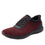 Quantum Maroon Black smart shoes with Q-chip™ technology. QUA-M7601_S1