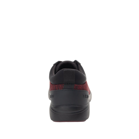 Quantum Maroon Black smart shoes with Q-chip™ technology. QUA-M7601_S3