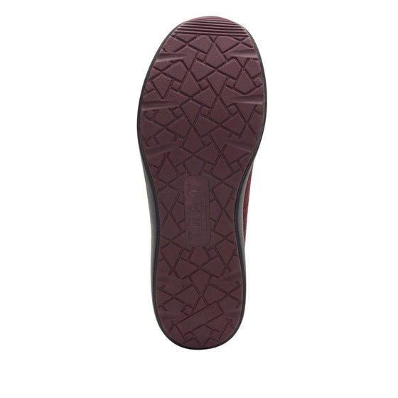 Quantum Maroon Black smart shoes with Q-chip™ technology. QUA-M7601_S5