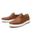Quentin Cognac Mens smart slip-on leather shoe with Q-chip™ technology- QUE-M7202_S2