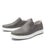 Quentin Grey Mens smart slip-on leather shoe with Q-chip™ technology- QUE-M7477_S2