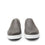 Quentin Grey Mens smart slip-on leather shoe with Q-chip™ technology- QUE-M7477_S7