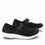 Qwik Black Top slip on smart shoes with Q-chip™ technology. QWI-5009_S2