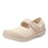 Qutie Crochet Cream mary jane smart shoes with Q-chip™ technology. QUT-5103_S1