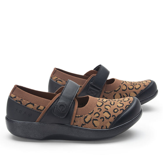 Qutie Leopard mary jane shoes with Q-chip™ technology. QUT-5210_S3