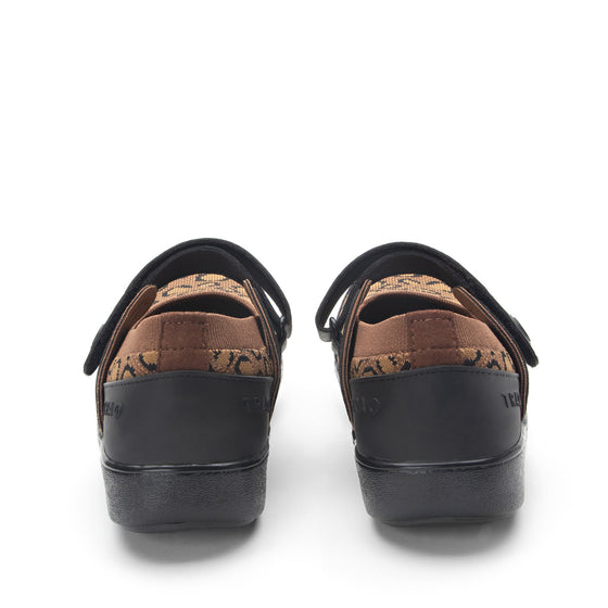 Qutie Leopard mary jane shoes with Q-chip™ technology. QUT-5210_S4