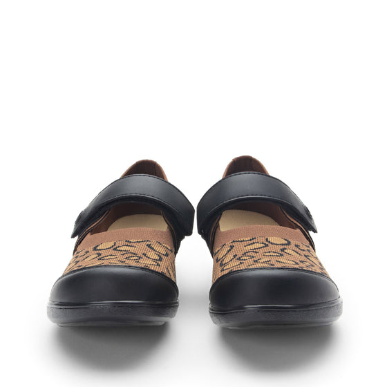 Qutie Leopard mary jane shoes with Q-chip™ technology. QUT-5210_S7