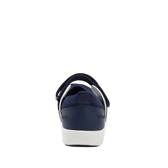 Qutie Navy mary jane shoes with Q-chip™ technology. QUT-5410_S3