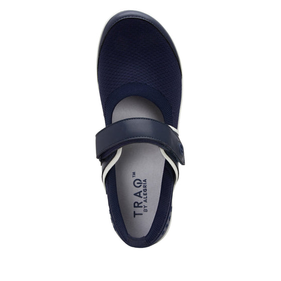 Qutie Navy mary jane shoes with Q-chip™ technology. QUT-5410_S4