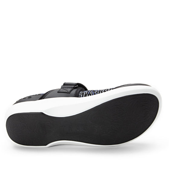 Qwik Blue Dash slip on smart shoes with Q-chip™ technology. QWI-5494_S5