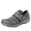 Qwik Outta Sight Black slip on smart shoes with Q-chip™ technology. QWI-5003_S1