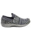 Qwik Outta Sight Black slip on smart shoes with Q-chip™ technology. QWI-5003_S2