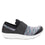 Qwik Flurry Black slip on smart shoes with q-chip technology. QWI-5004_S2